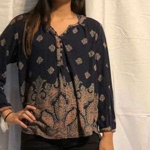 Lucky Brand 🍀 Blouse L